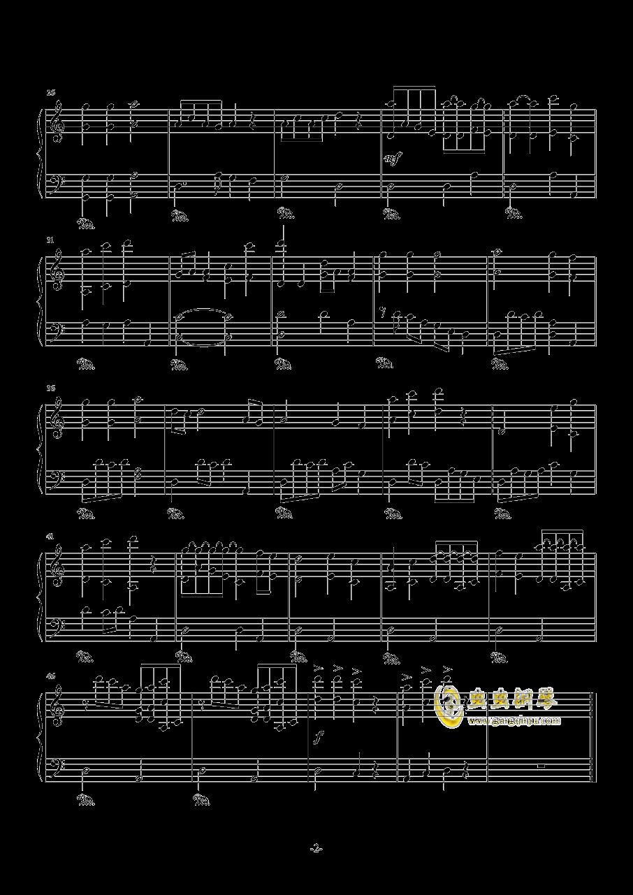阴阳师钢琴谱 第2页