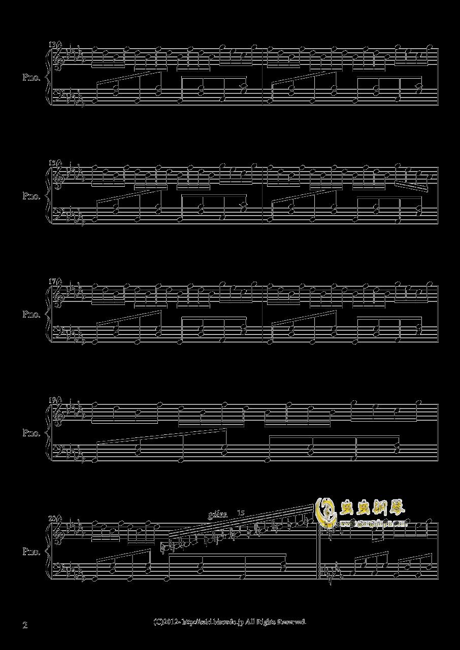�谟猩涔著B事 钢琴谱 第2页