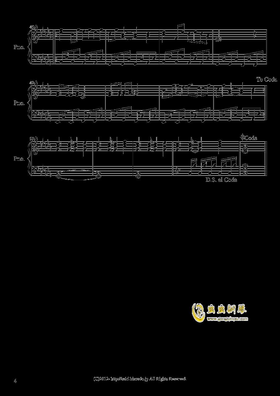 �谟猩涔著B事 钢琴谱 第4页