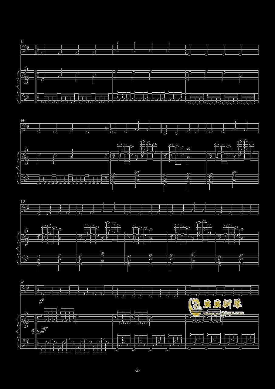 Rain 3――Storm钢琴谱 第2页