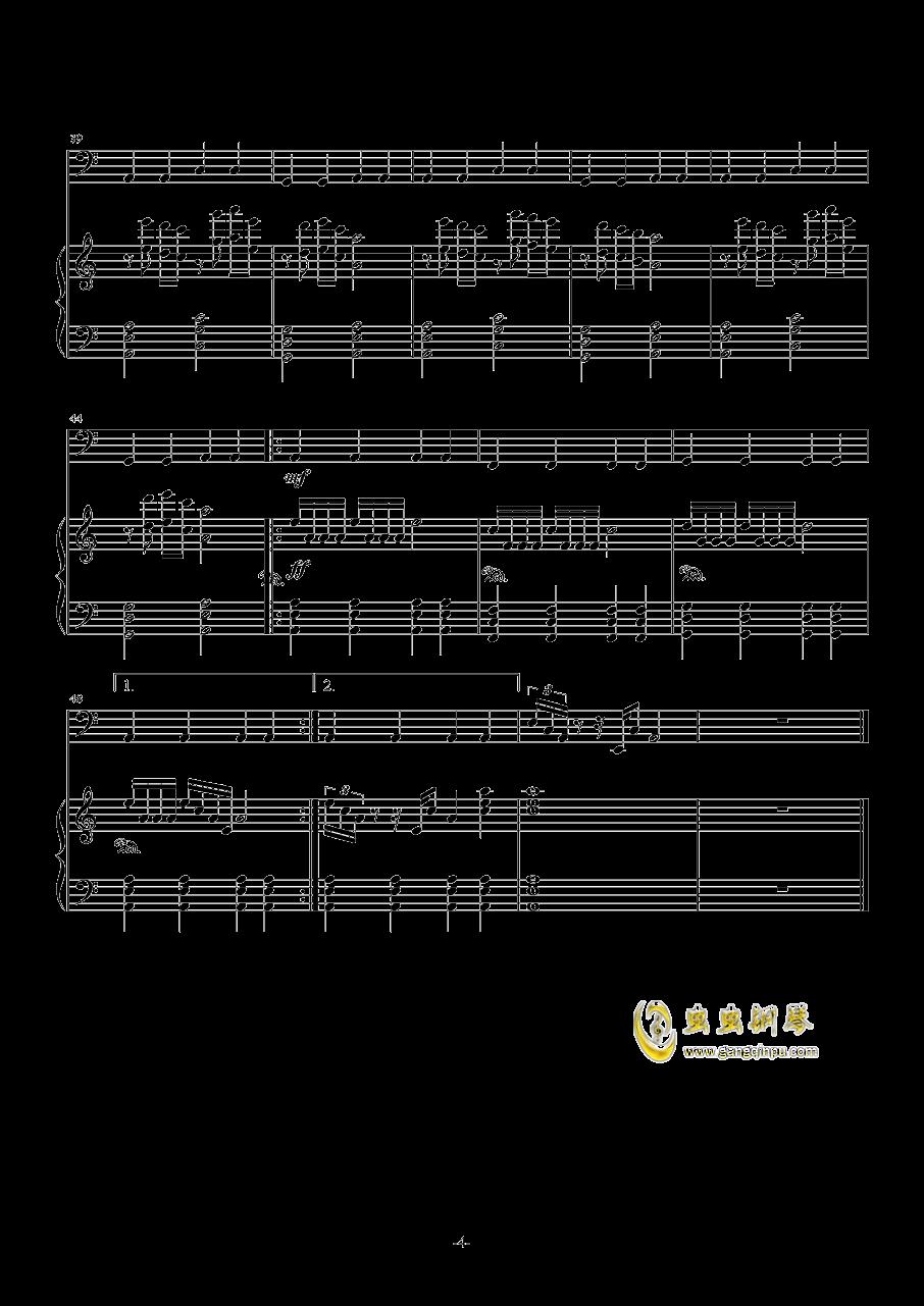 Rain 3――Storm钢琴谱 第4页