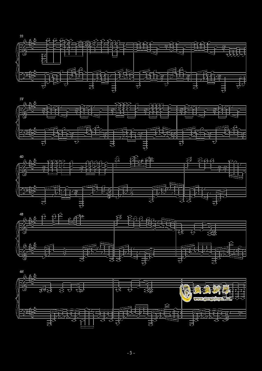 Radioactive钢琴谱 第3页