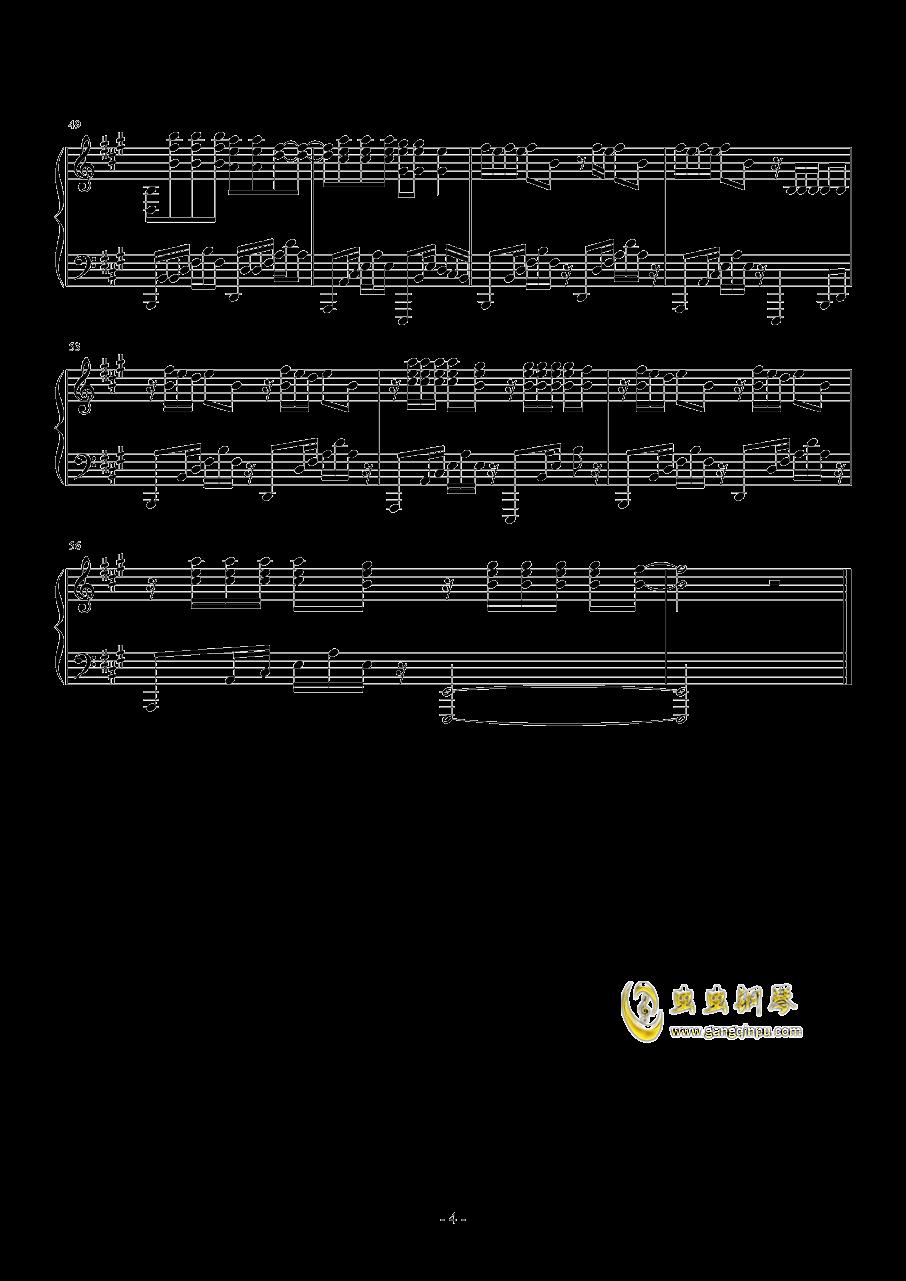 Radioactive钢琴谱 第4页