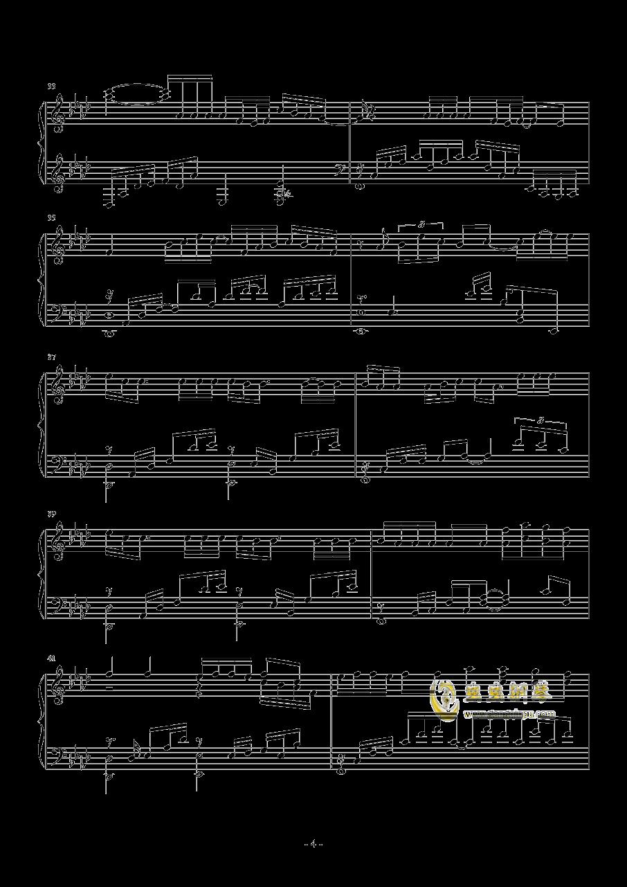 I NEED U钢琴谱 第4页