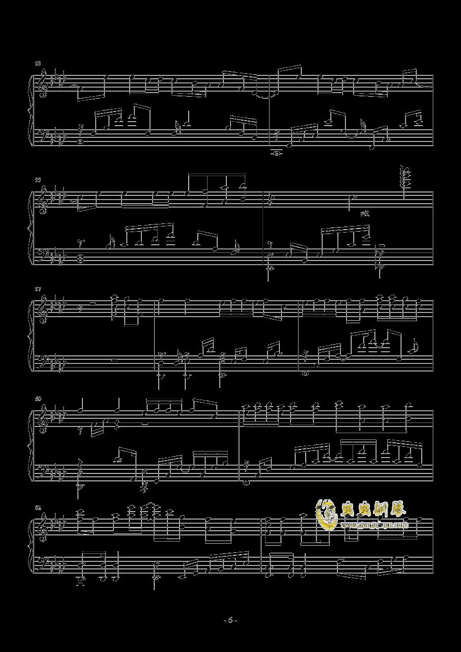 I NEED U钢琴谱 第6页