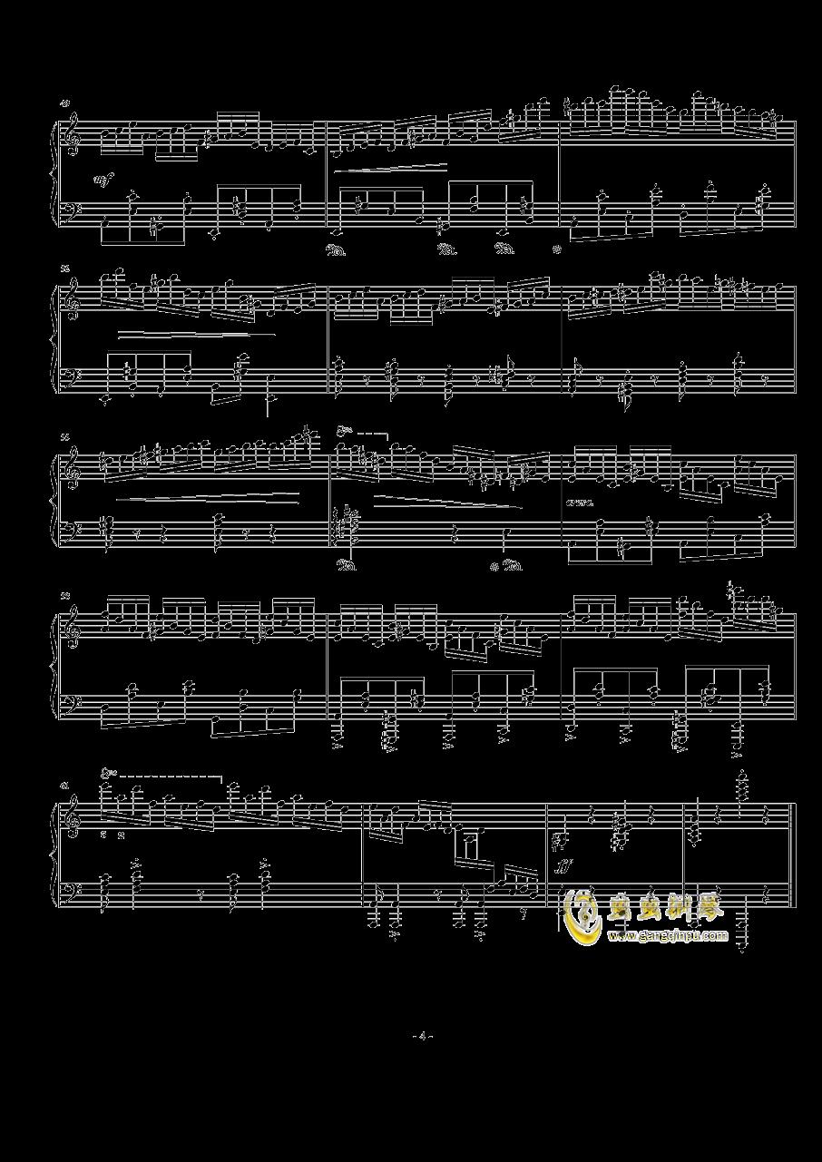 a小调练习曲 Op.24 No.8钢琴谱 第4页