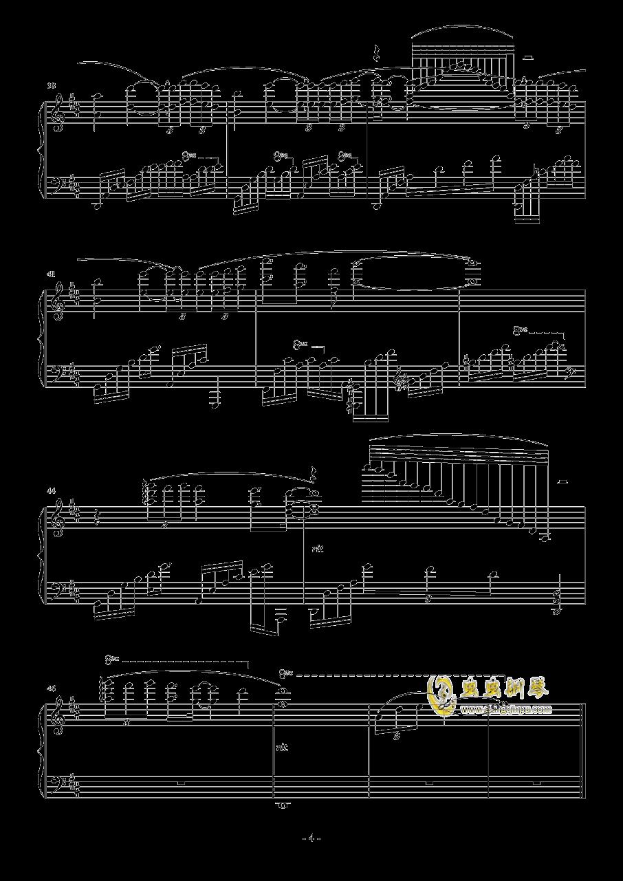 Seems Like Yesterday钢琴谱 第4页
