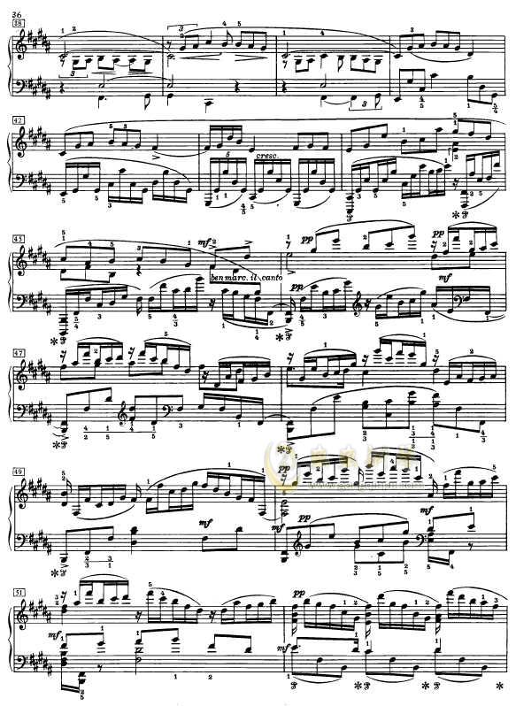 第二钢琴奏鸣曲钢琴谱 第3页