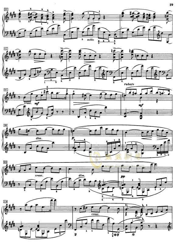 第二钢琴奏鸣曲钢琴谱 第6页