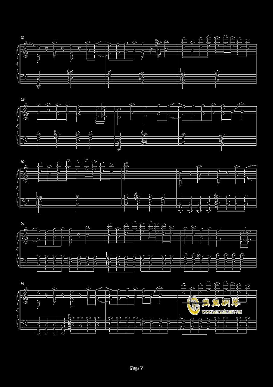 死亡华尔兹钢琴谱 第7页