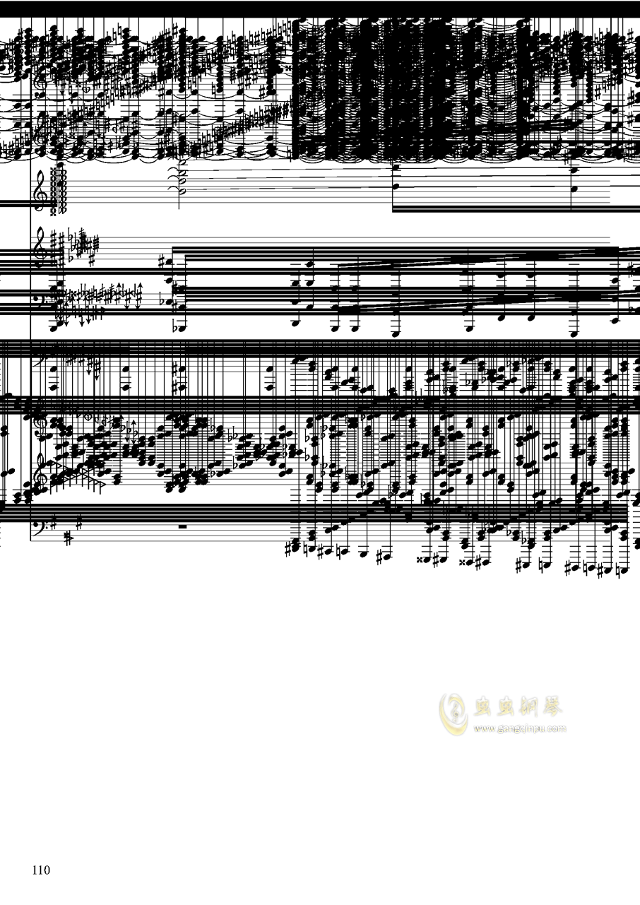 亡灵幻想钢琴谱 第110页