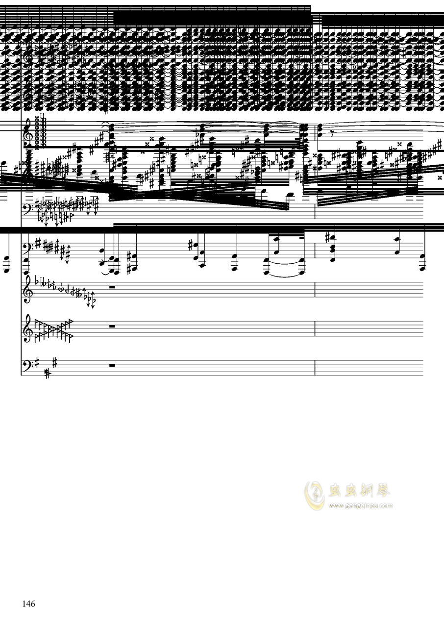 亡灵幻想钢琴谱 第146页