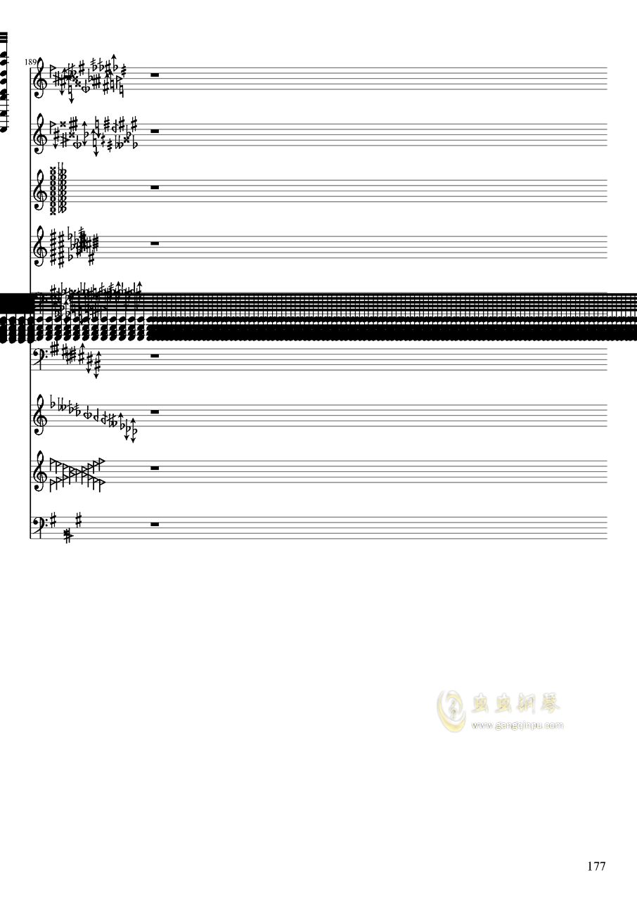 亡灵幻想钢琴谱 第177页