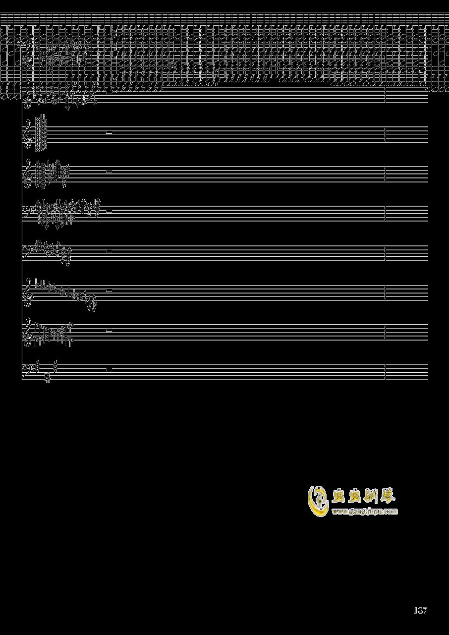 亡灵幻想钢琴谱 第187页