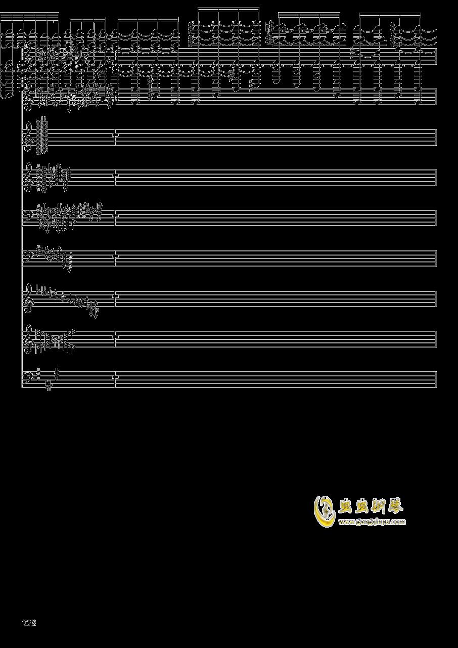亡灵幻想钢琴谱 第228页