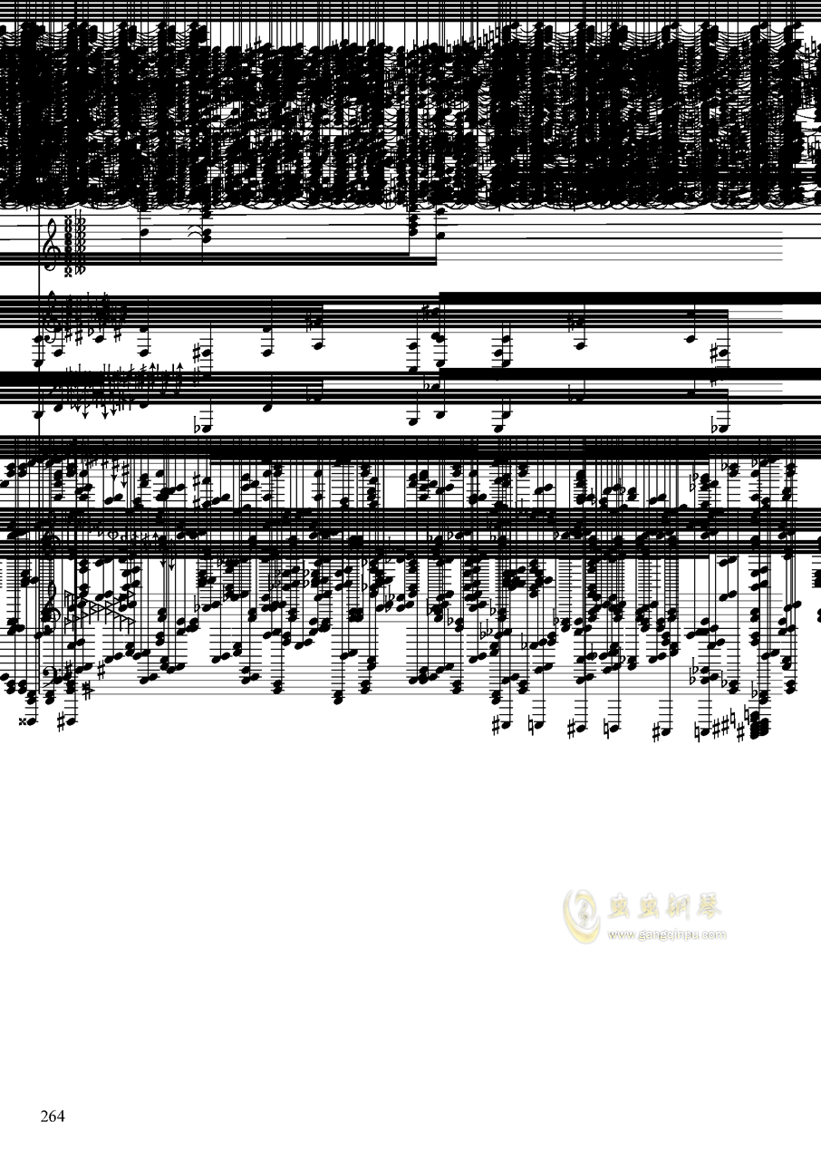 亡灵幻想钢琴谱 第264页