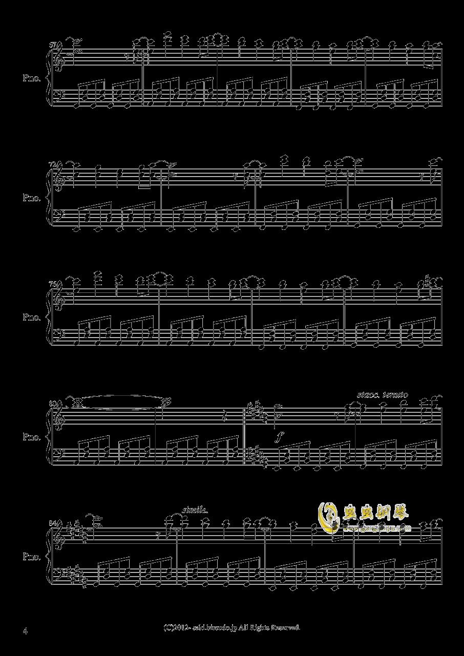 亡灵幻想曲钢琴谱 第4页
