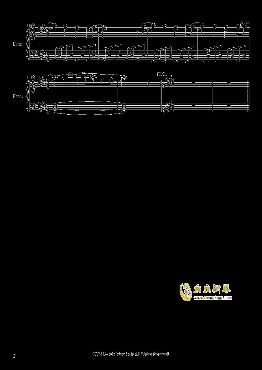 亡灵幻想曲钢琴谱 第6页