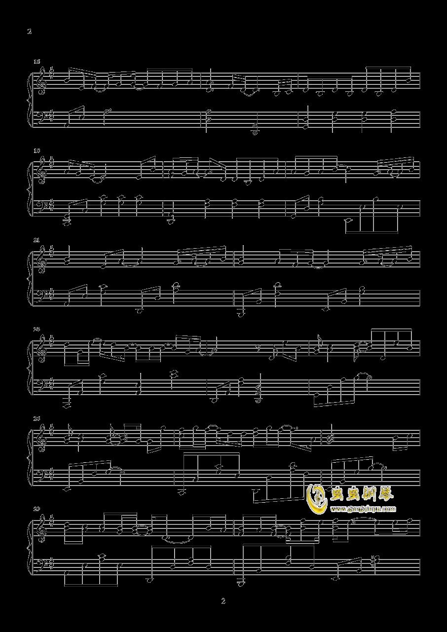 可乐钢琴谱 第2页