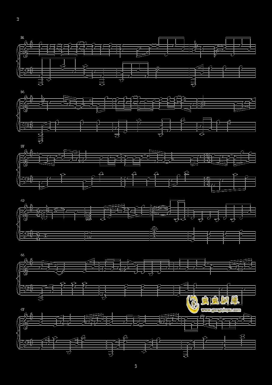 可乐钢琴谱 第3页