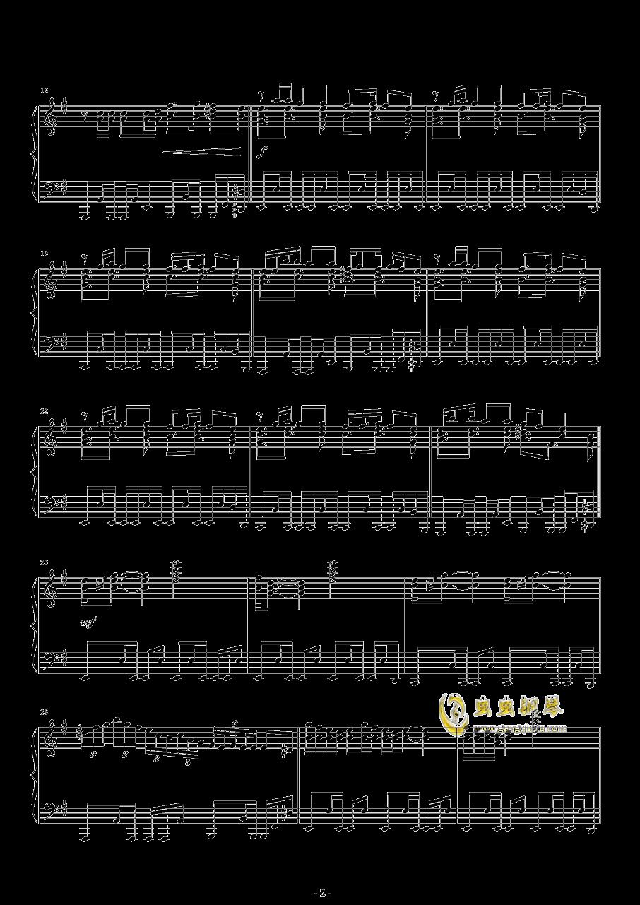 Hop钢琴谱 第2页