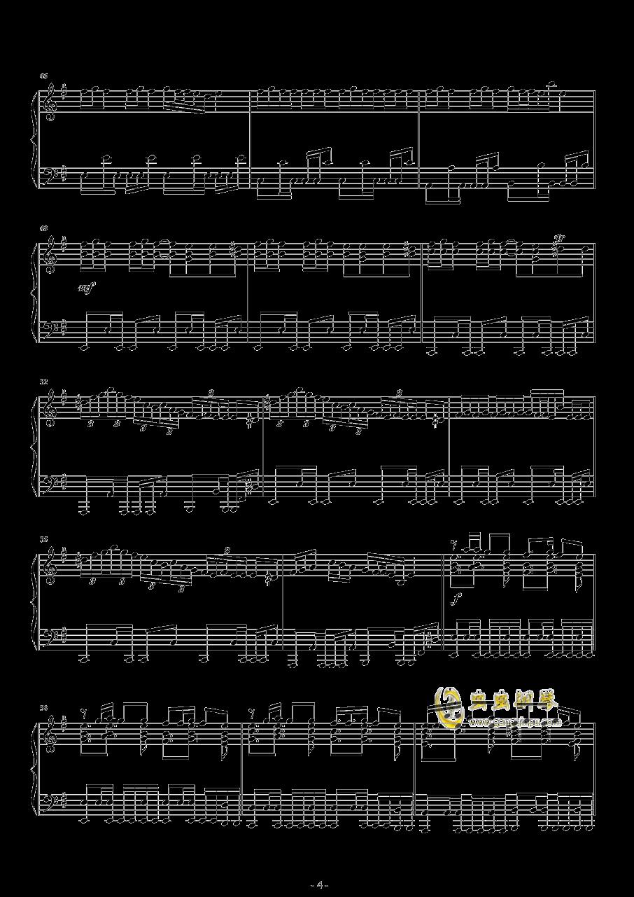 Hop钢琴谱 第4页