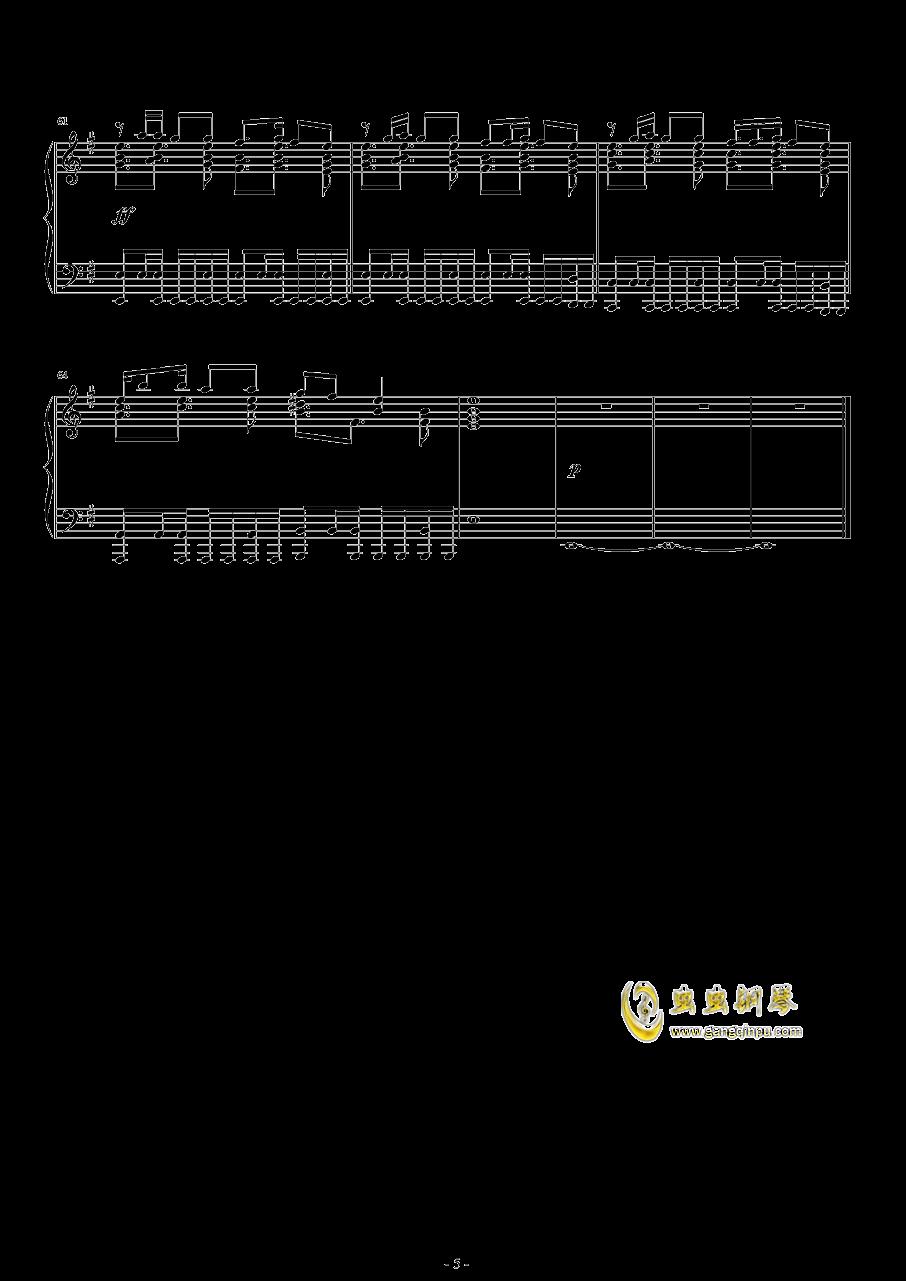 Hop钢琴谱 第5页