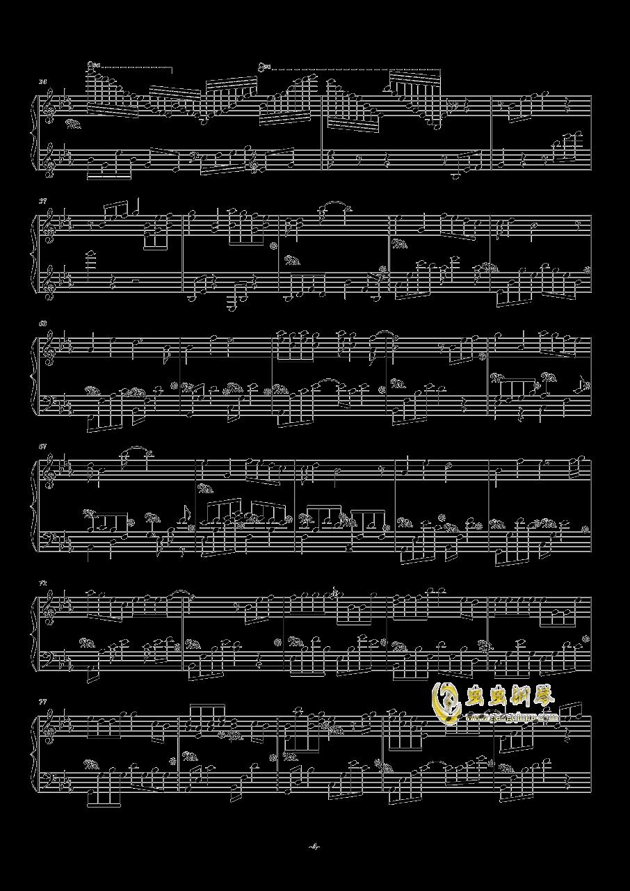 TFboys主题幻想曲钢琴谱 第4页