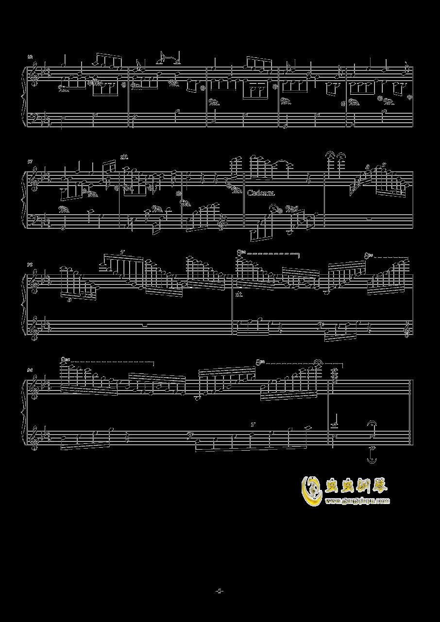 TFboys主题幻想曲钢琴谱 第5页