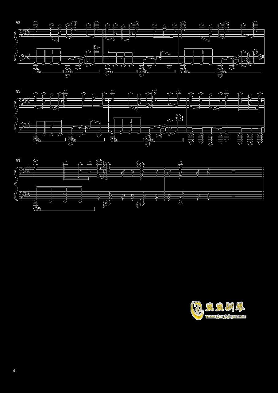 亚人OP钢琴谱 第6页