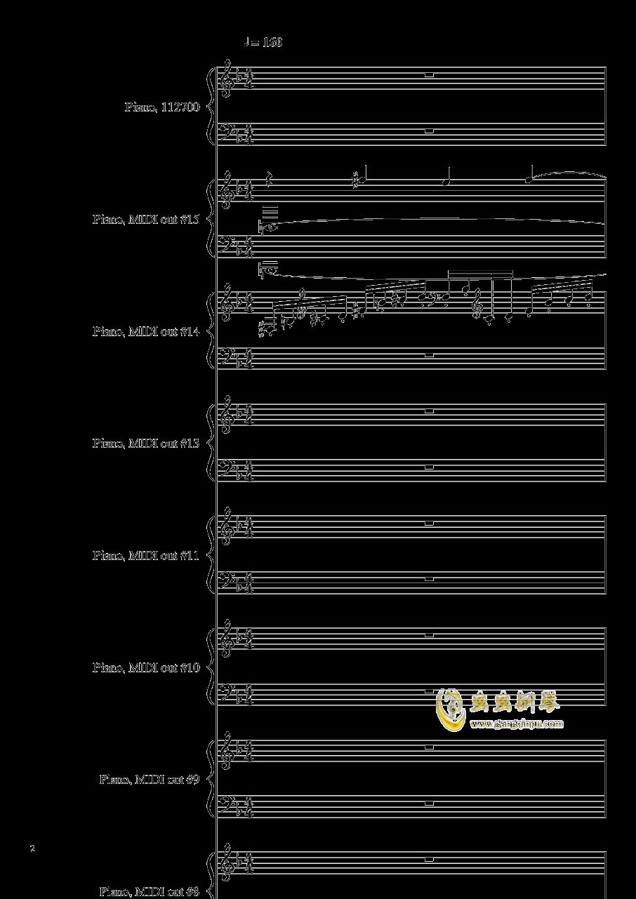 证实钢琴谱 第2页