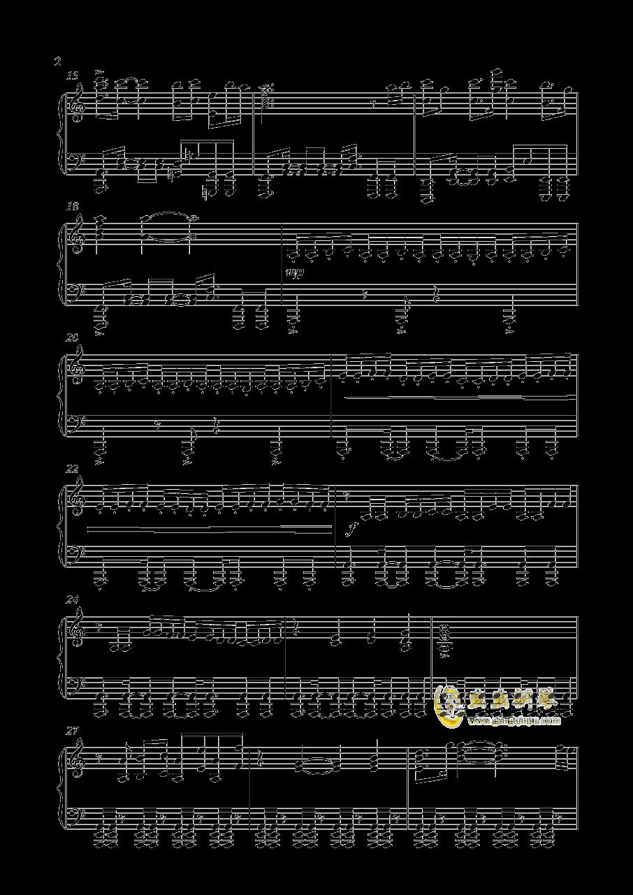 Unicorn Gundam钢琴谱 第2页