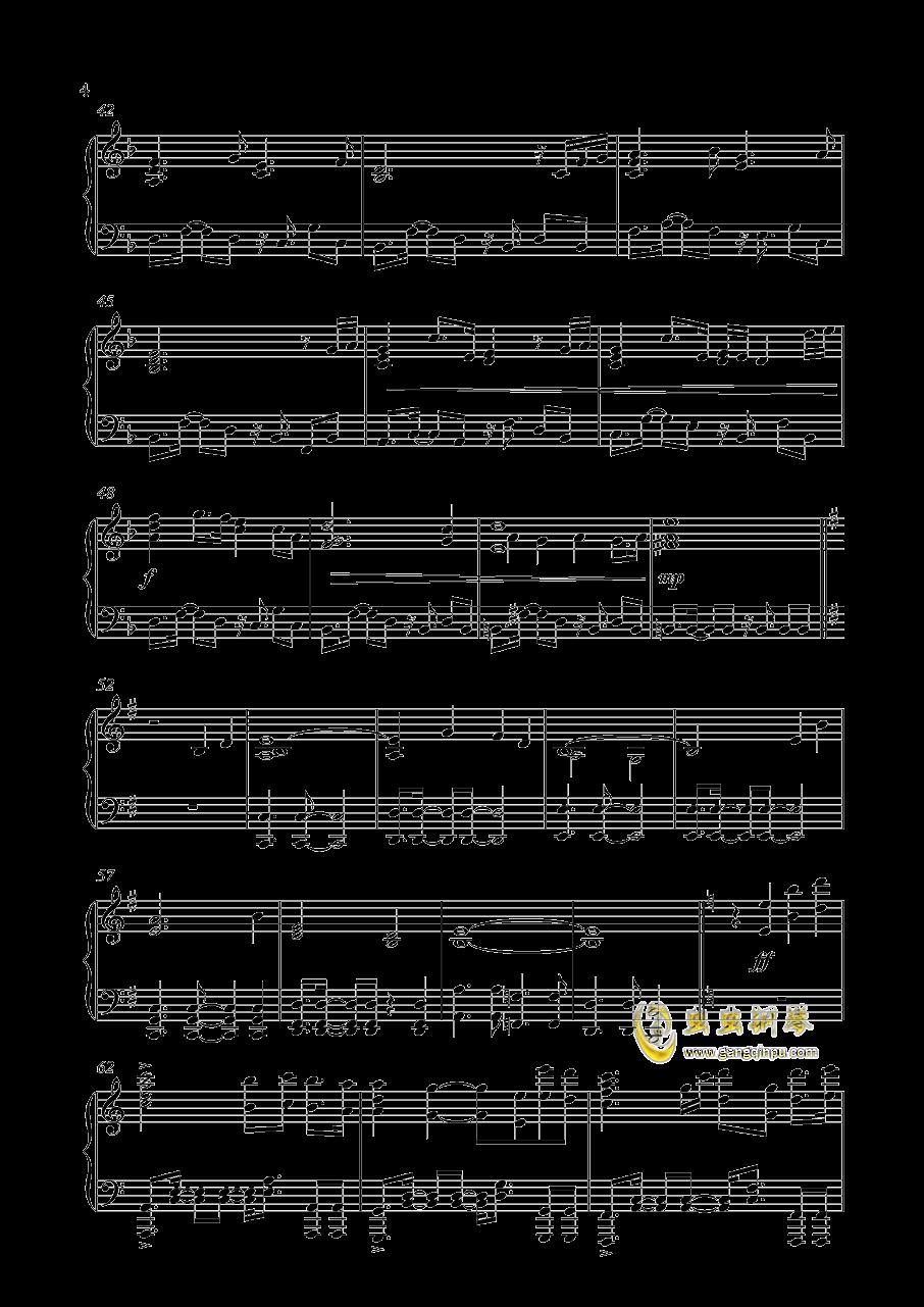 Unicorn Gundam钢琴谱 第4页