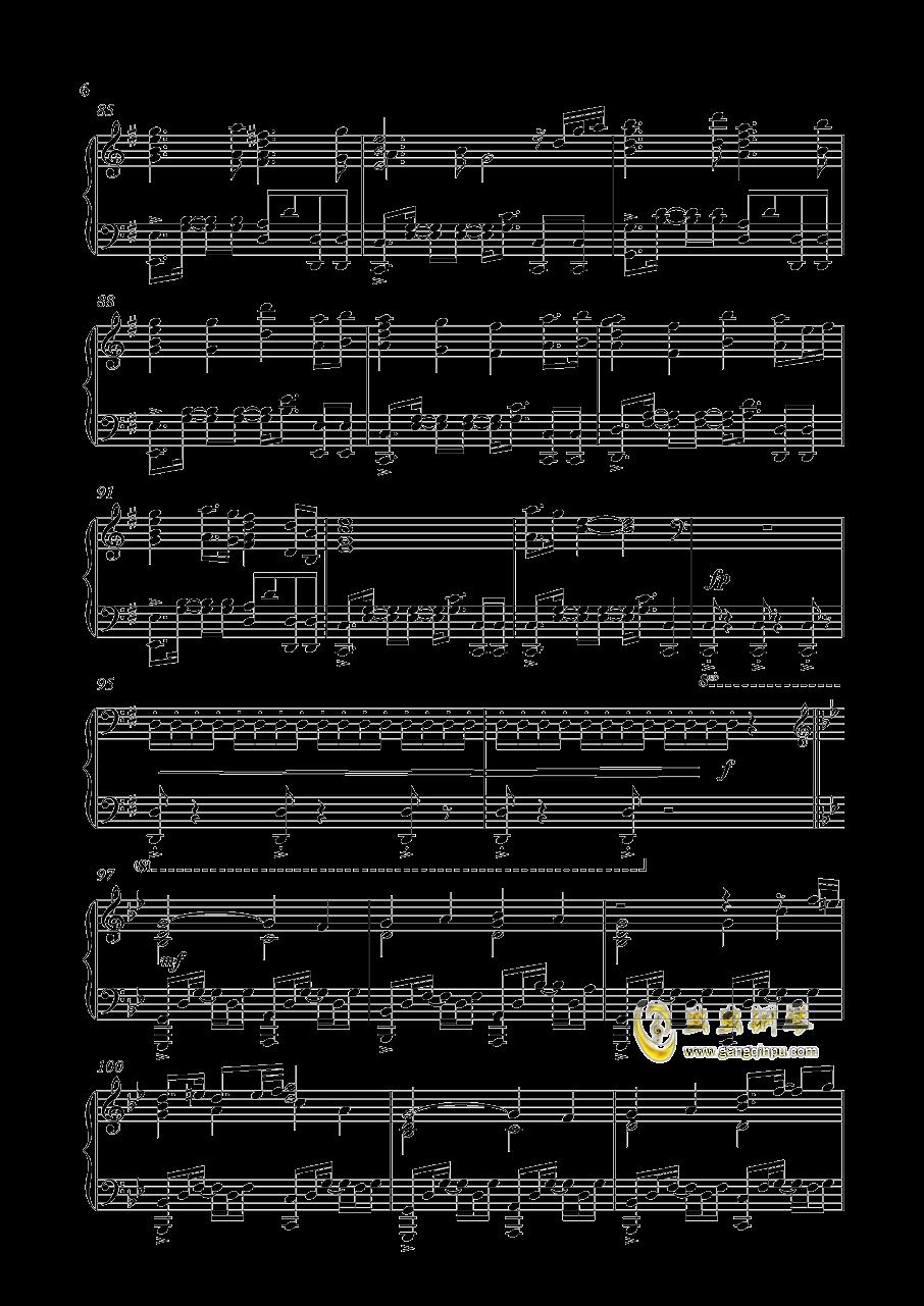 Unicorn Gundam钢琴谱 第6页