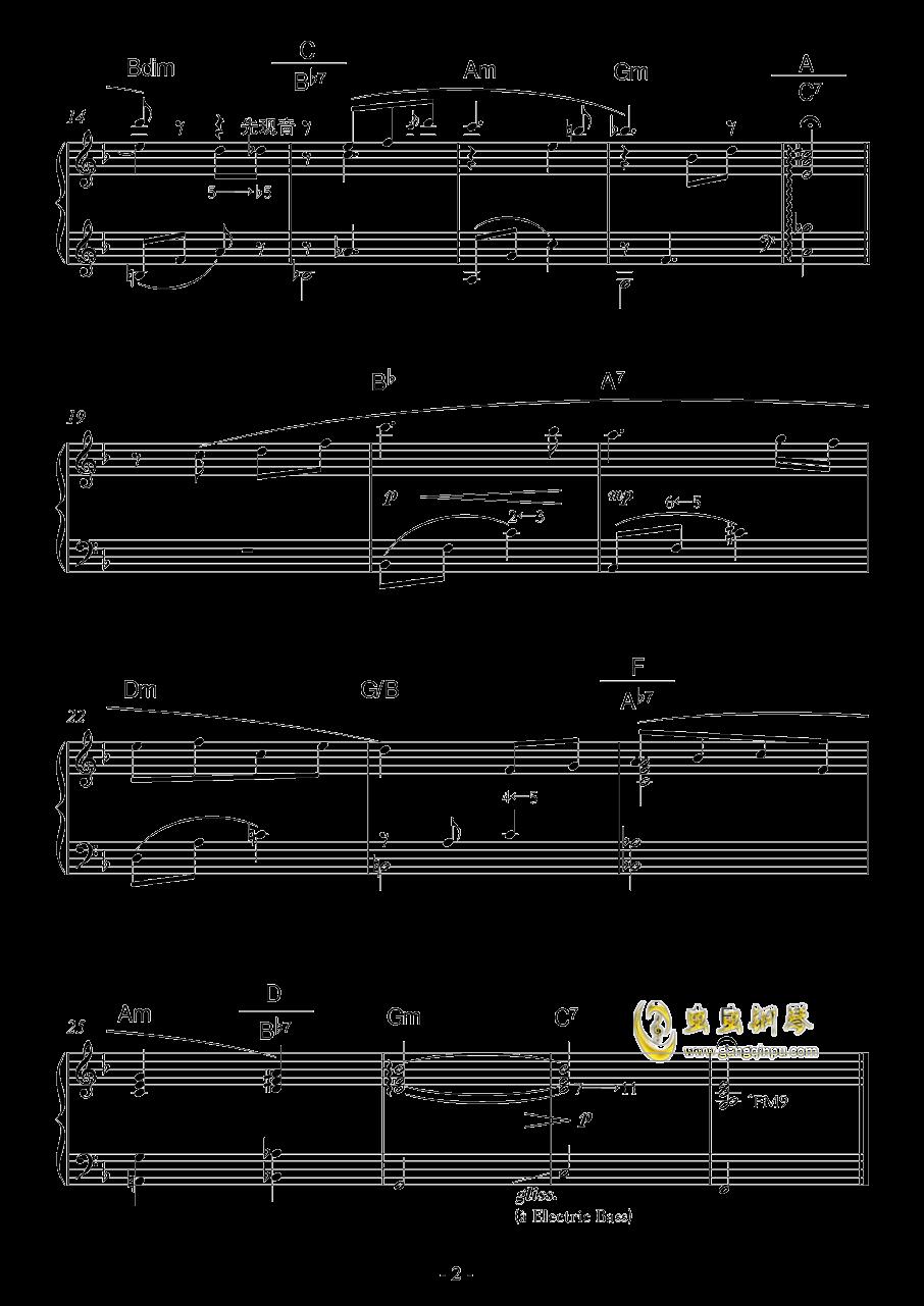 微风早晨钢琴谱 第2页
