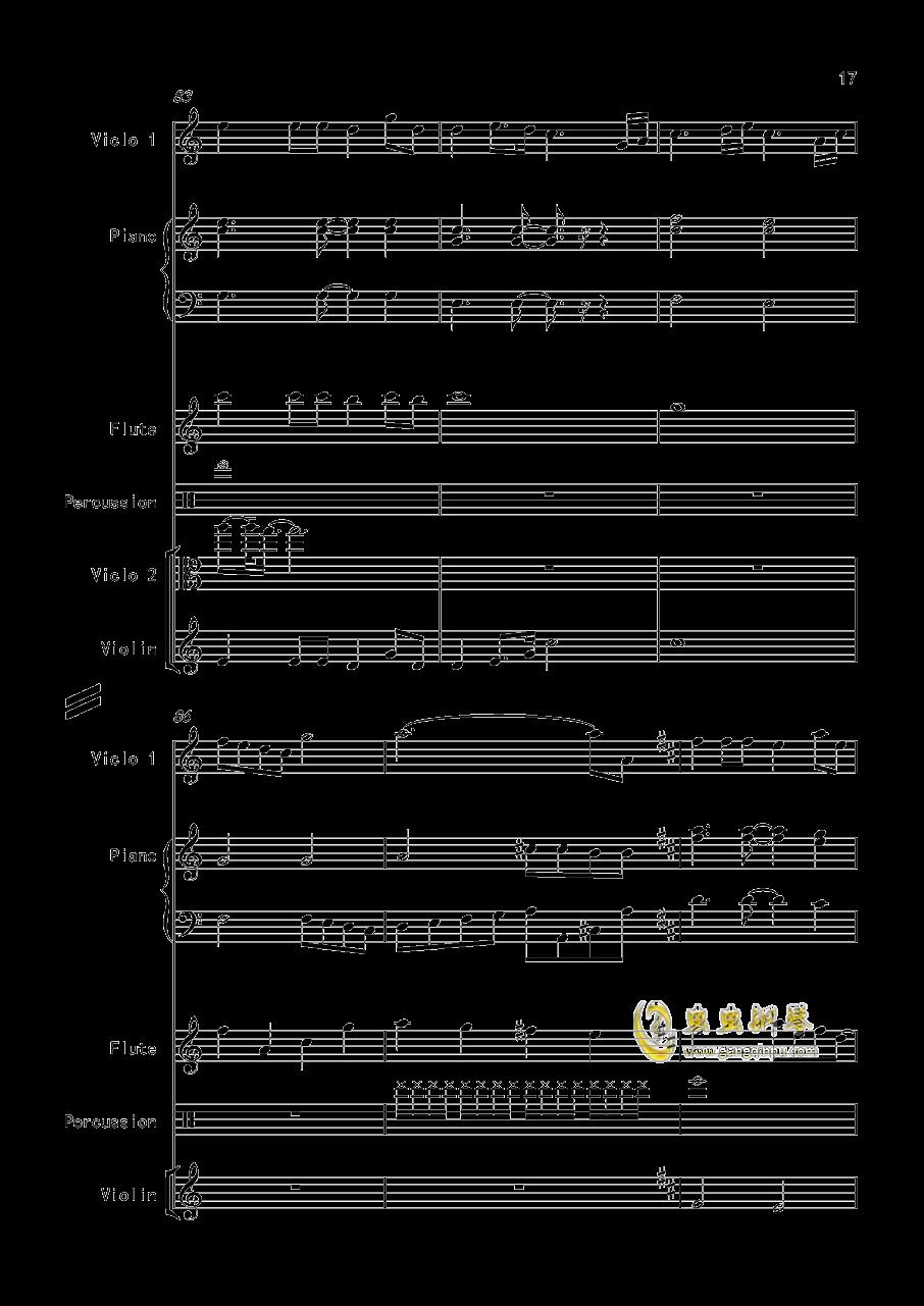 天边的彩虹 V2.0改版 ,天边的彩虹 V2.0改版 钢琴谱,天边的彩虹 V2.