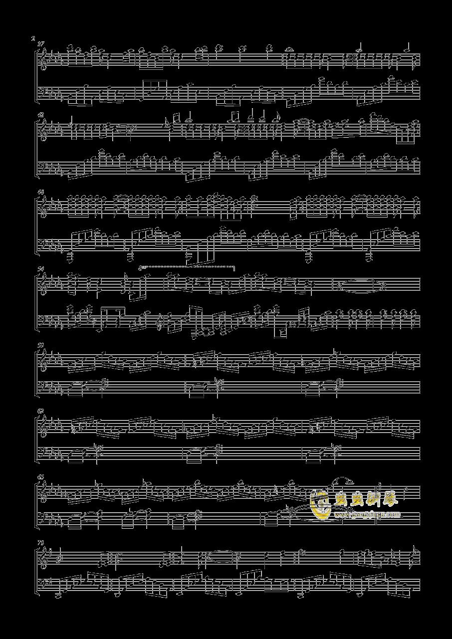 感情的摩天轮钢琴谱 第2页