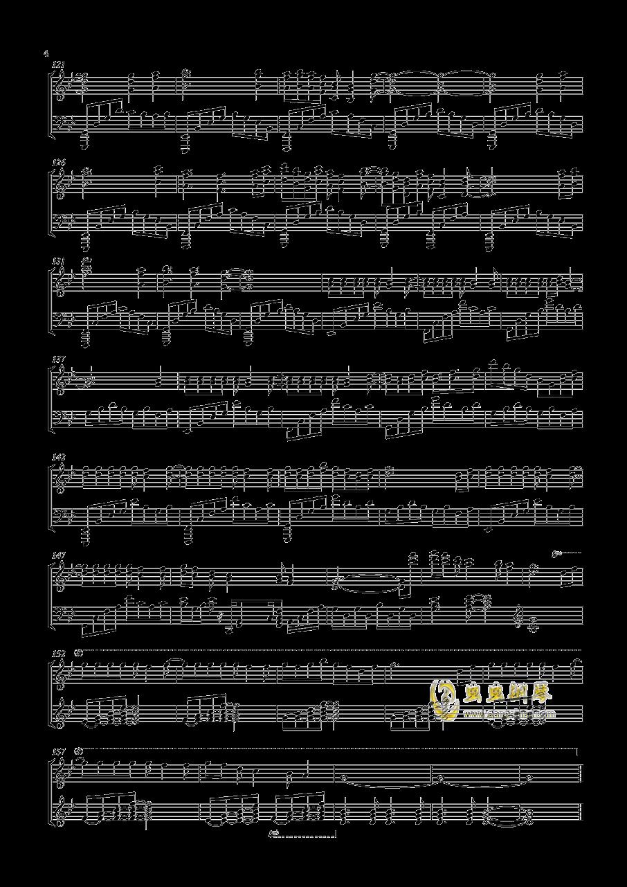 感情的摩天轮钢琴谱 第4页