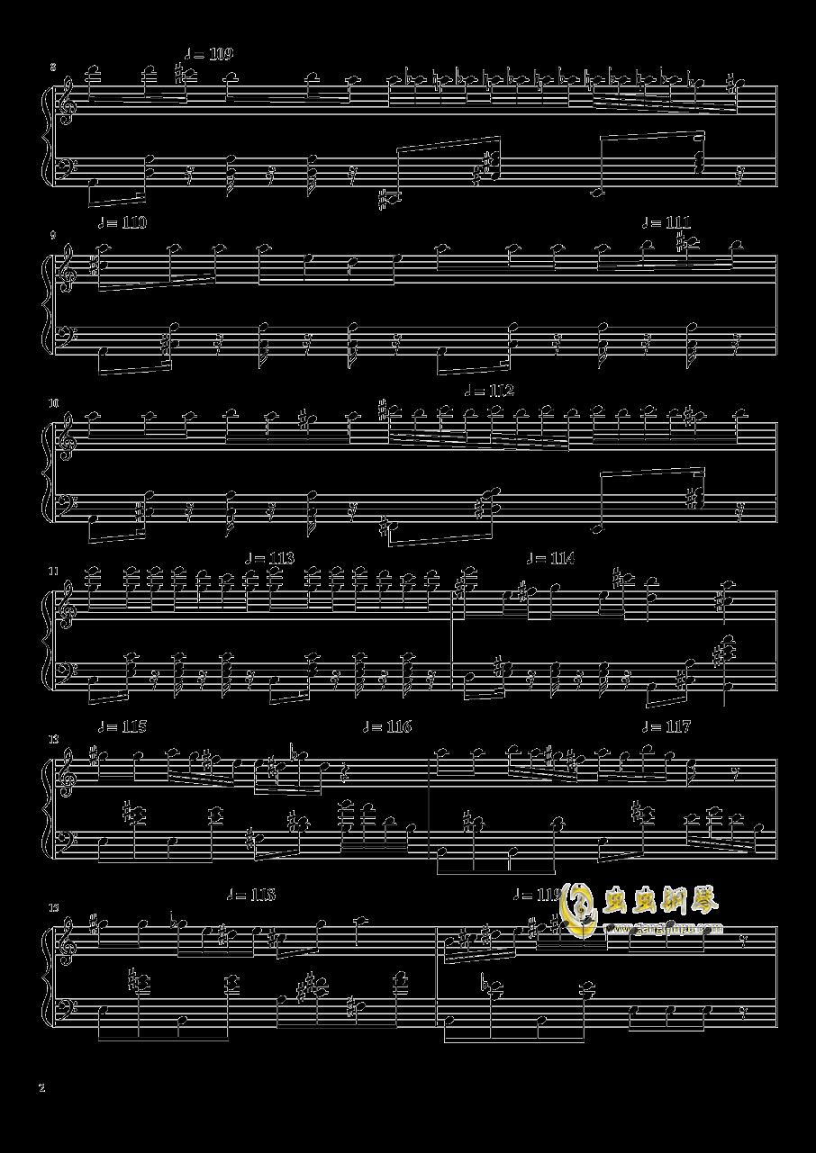 大师赛钢琴谱 第2页