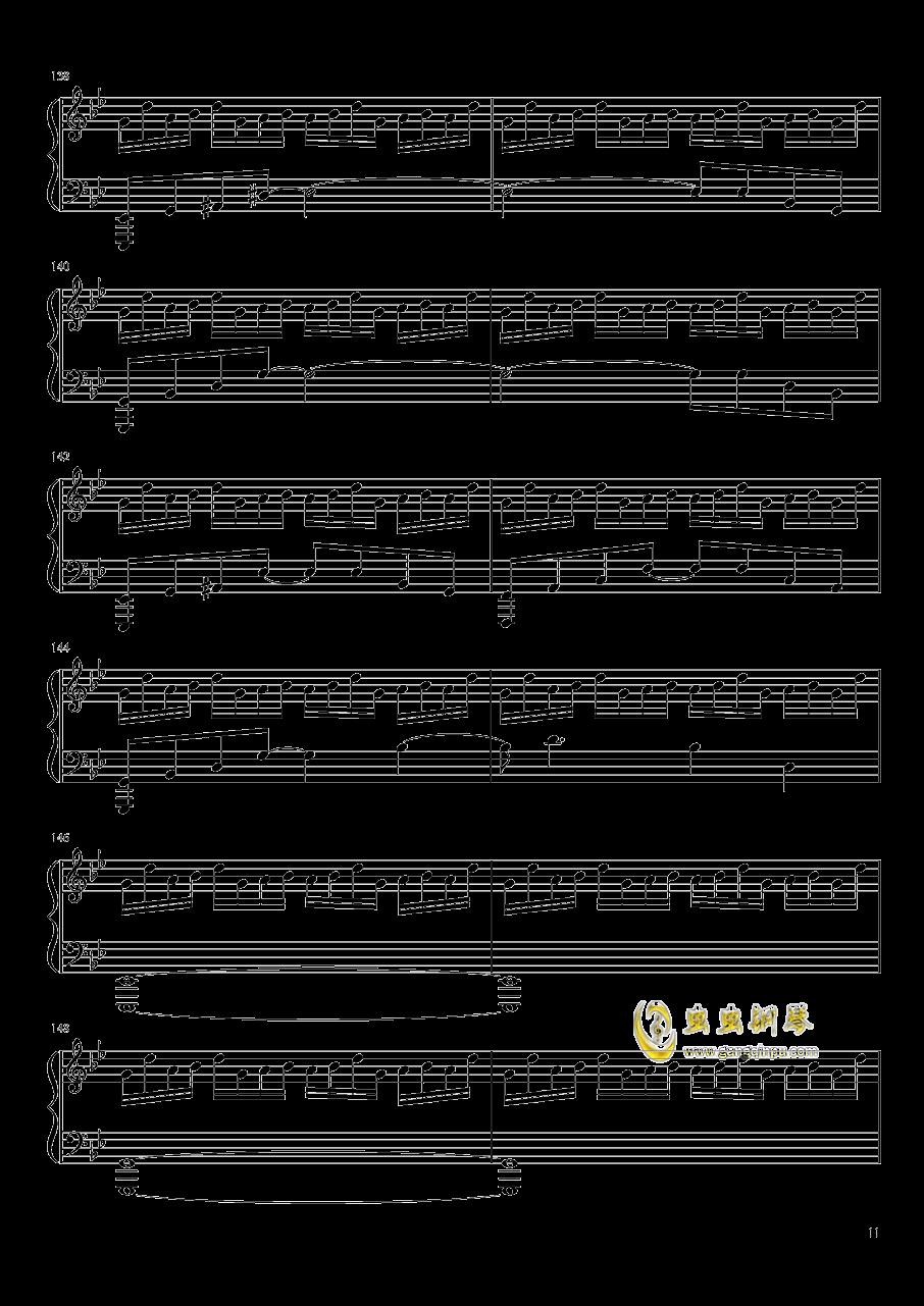 ヴォヤ�`ジュ 1969钢琴谱 第11页