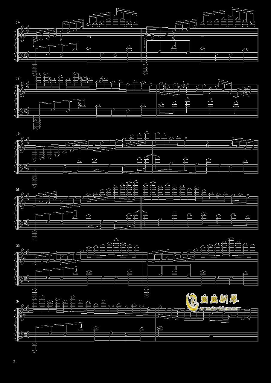ヴォヤ�`ジュ 1969钢琴谱 第2页