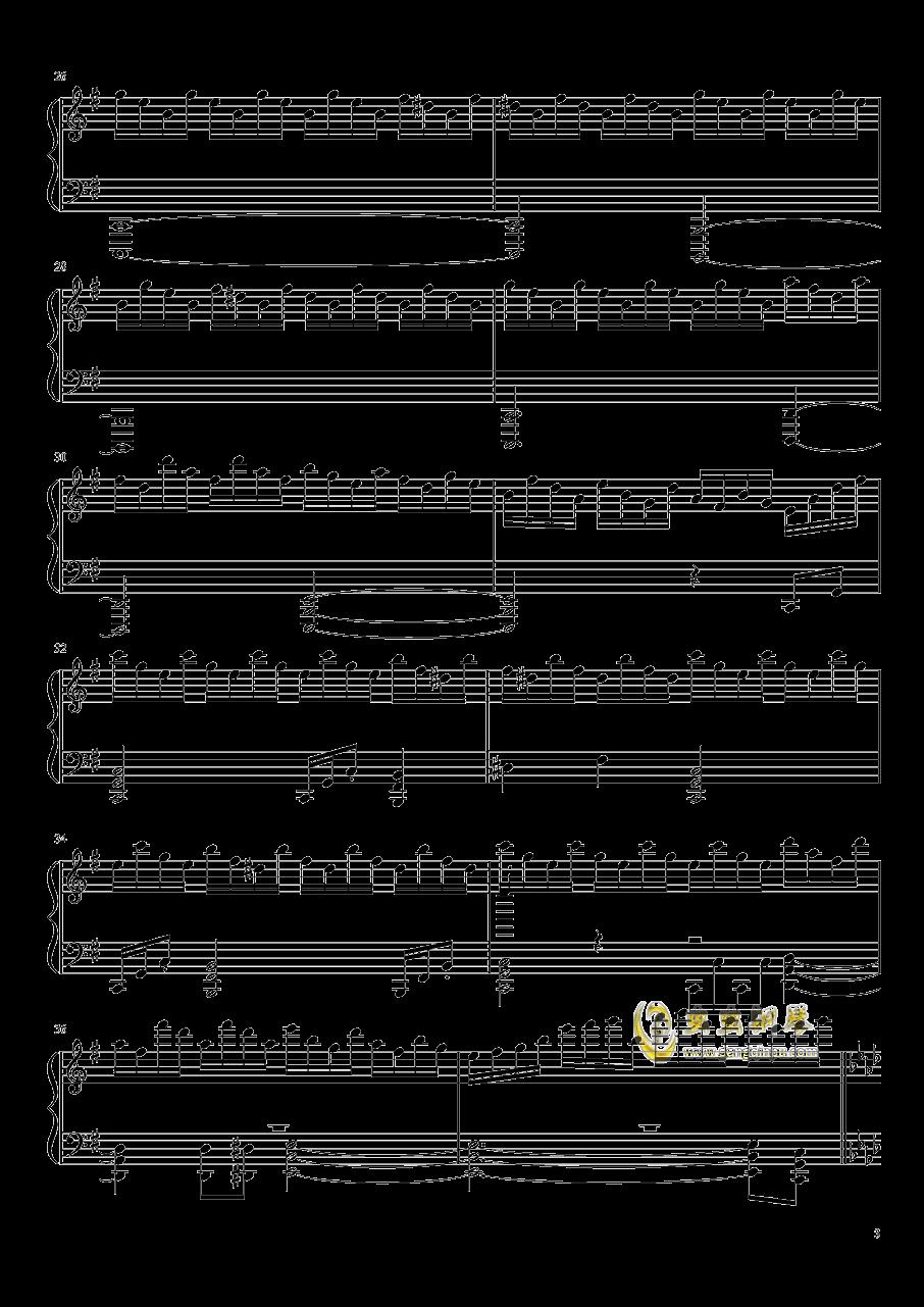 ヴォヤ�`ジュ 1969钢琴谱 第3页