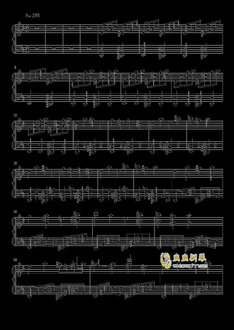 平安时代的外星人钢琴谱 第1页