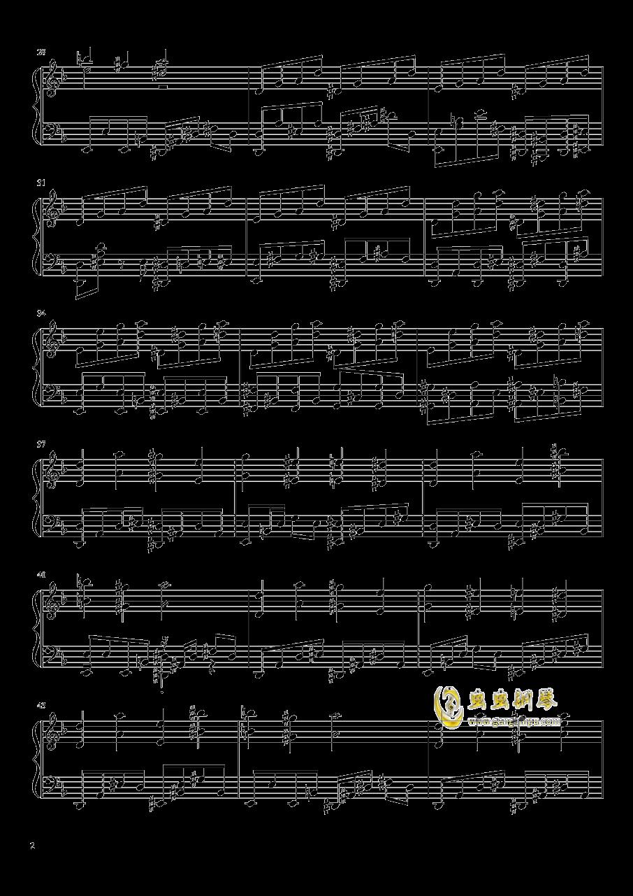 平安时代的外星人钢琴谱 第2页