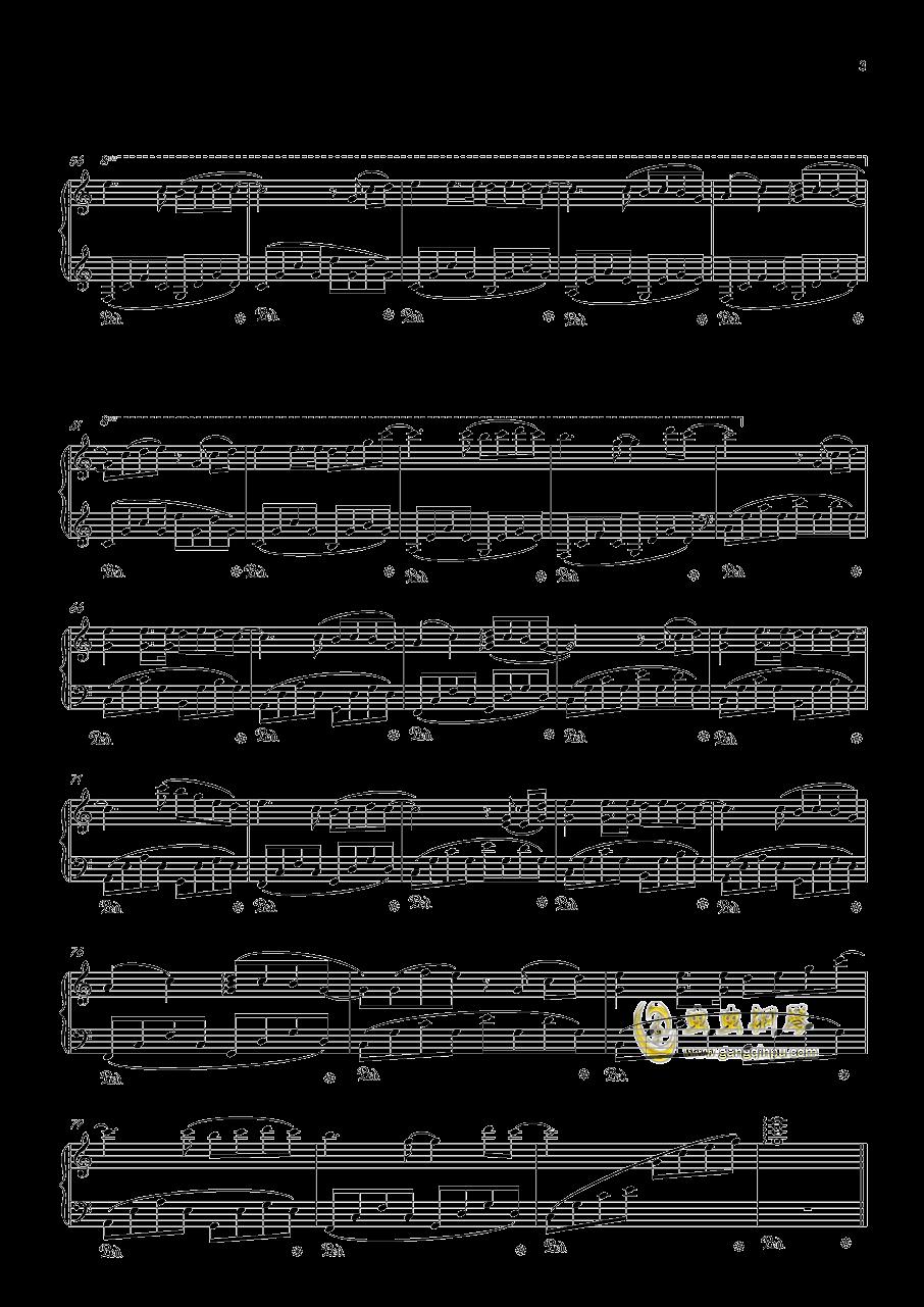 甜の钢琴谱 第3页