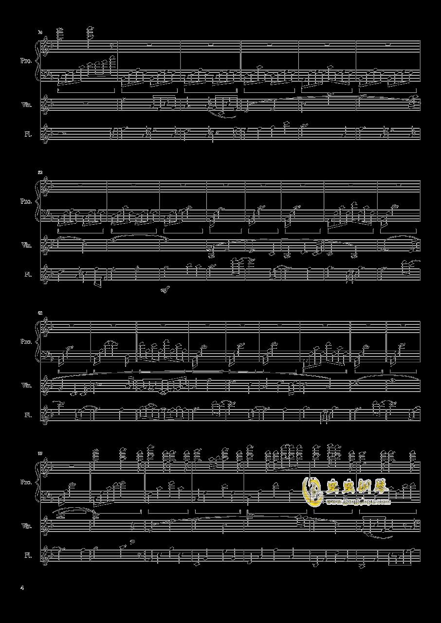 勾小指的�s定钢琴谱 第4页