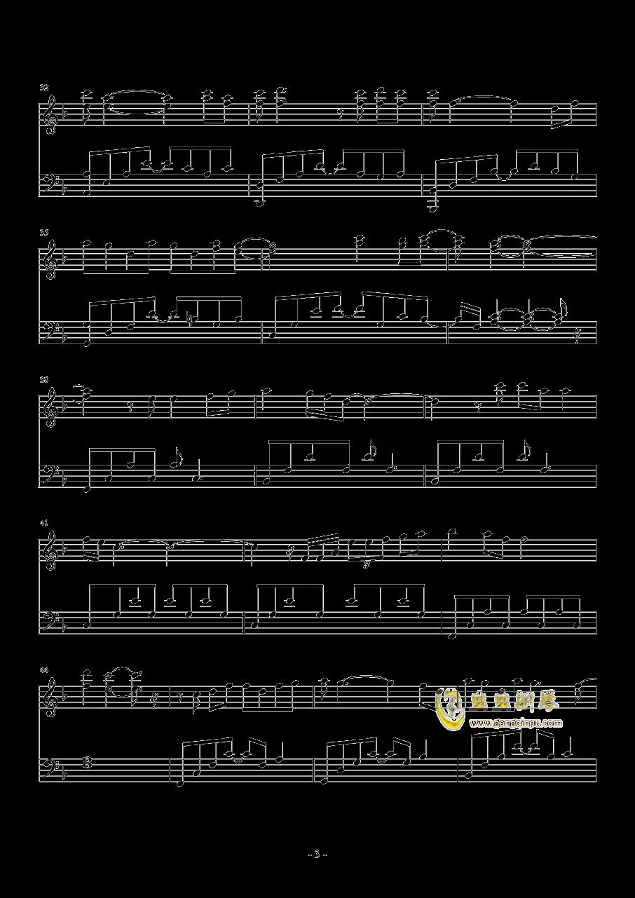 因为爱情 钢琴版,因为爱情 钢琴版钢琴谱,因为爱情 钢琴版钢琴谱
