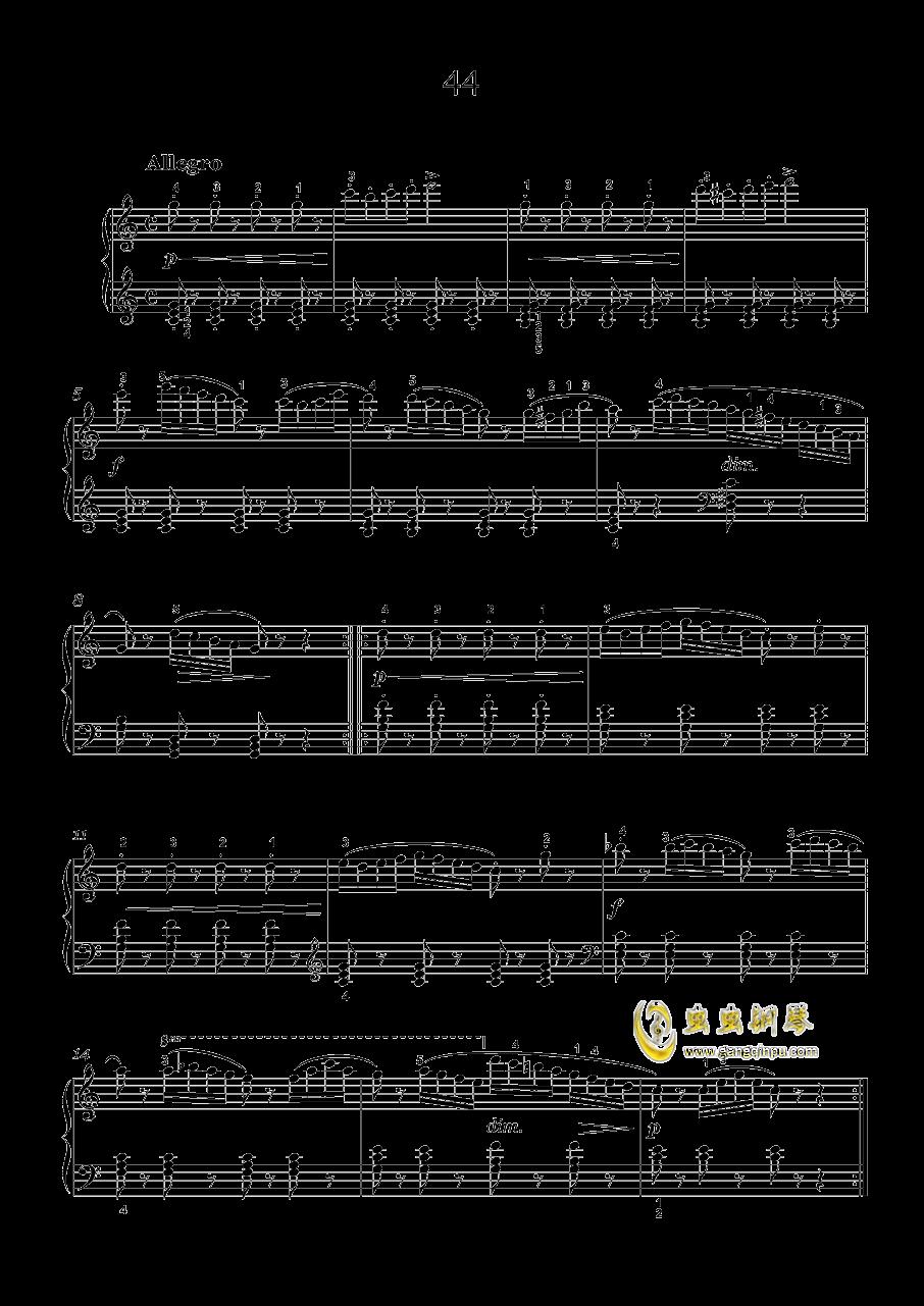 车尔尼-599钢琴谱 第10页