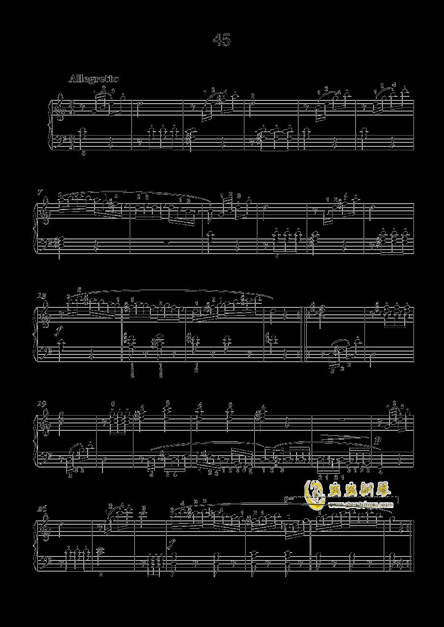 车尔尼-599钢琴谱 第11页