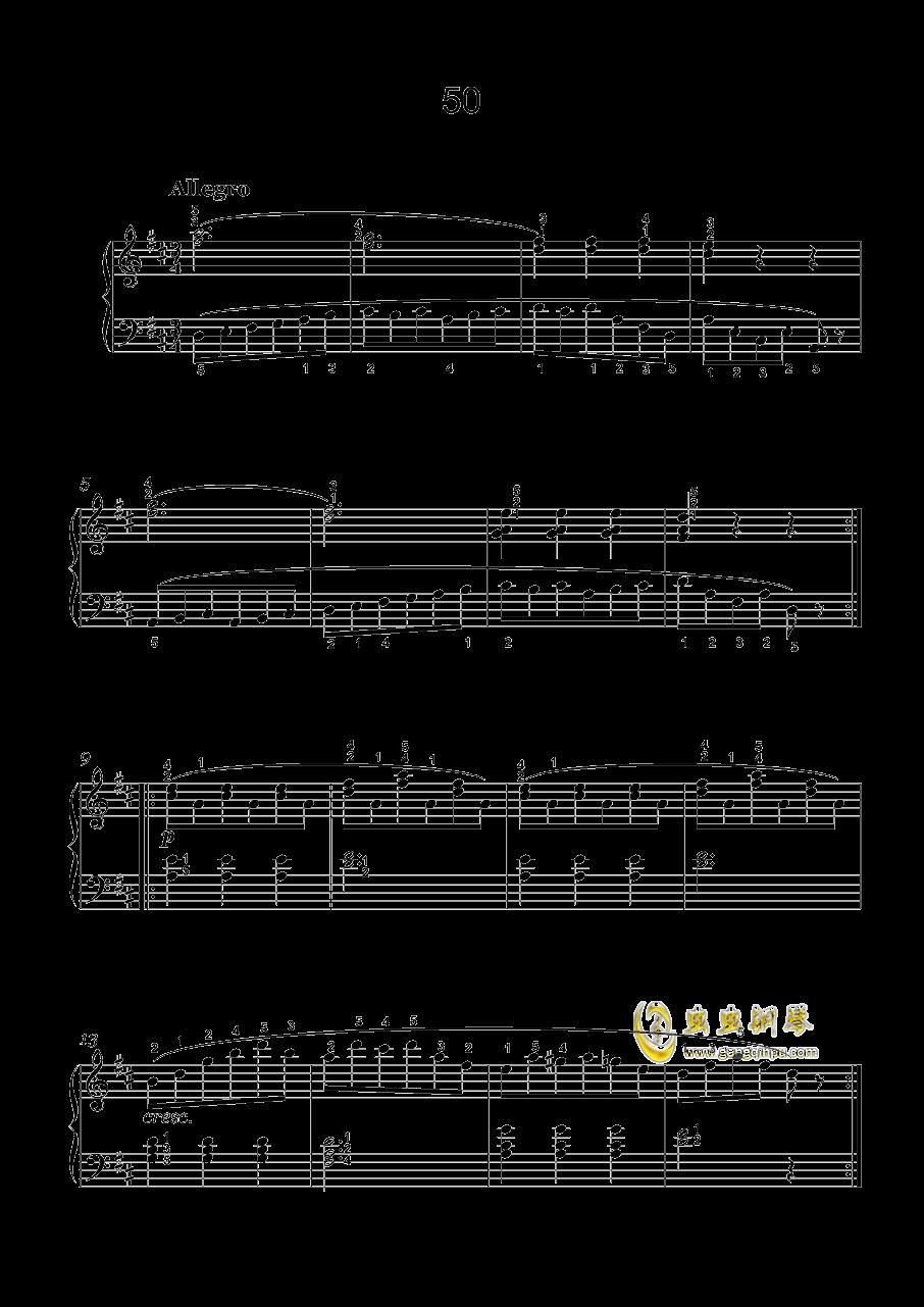 车尔尼-599钢琴谱 第15页